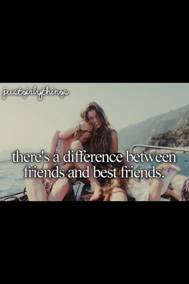 There S A Difference Between Friends And Beat Friends Best