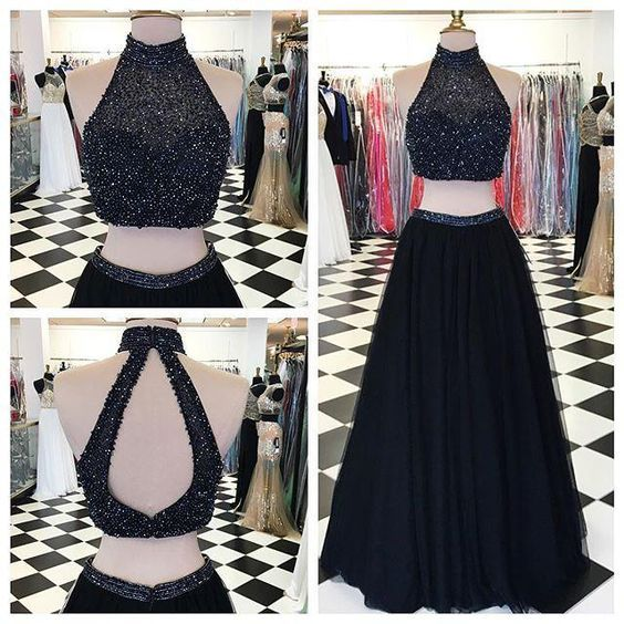 piece prom gowntwo dresseslong evening gowns pieces party dressesevening gownssparkle formal dress also rh ar pinterest