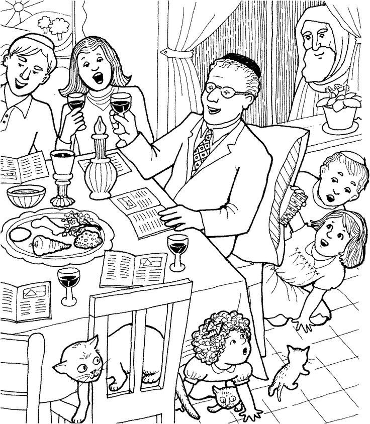 Coloring Shabbat Coloring Pages For Kids on Incredible Walt