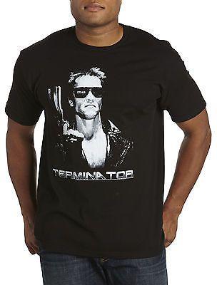 f4c66d8b True Nation Terminator Retro Graphic Tee Casual Male XL Big & Tall ...