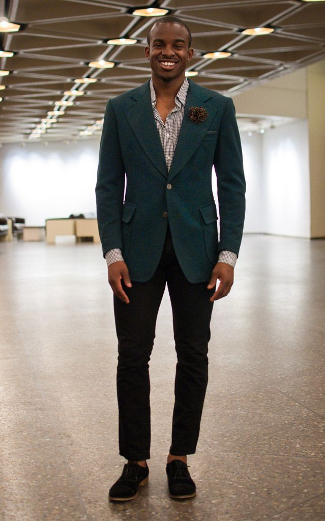 black pants. turquoise blazer. | Black Man Style | Pinterest ...