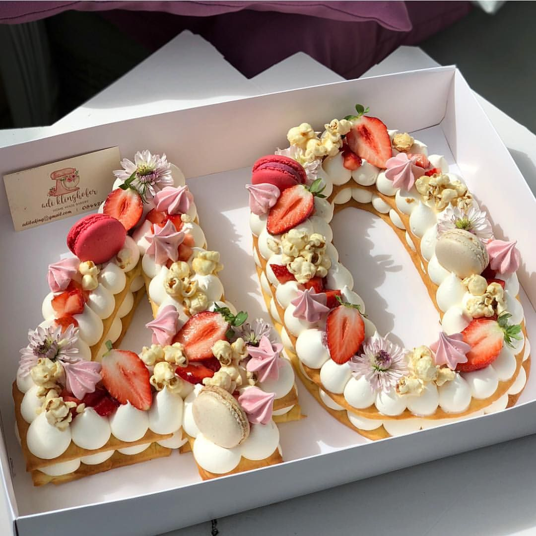 number cookie cake sydney