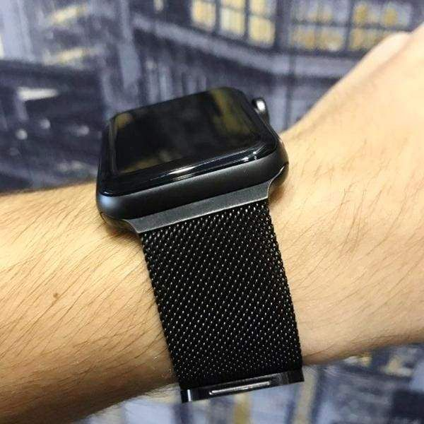 Apple Watch Series 5 4 3 2 Band, Milanese adjustable Mesh