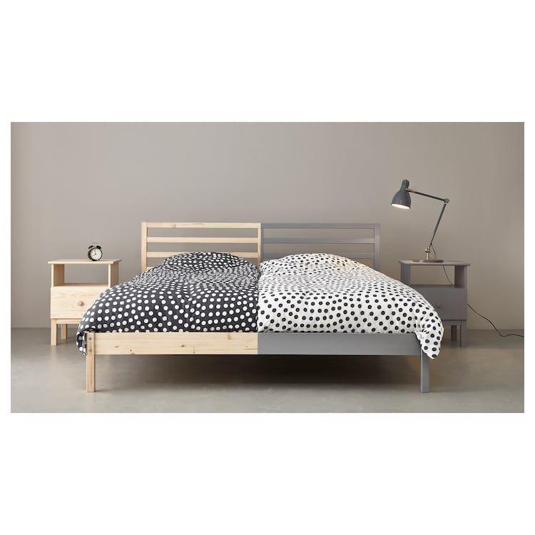Tarva Bettgestell Kiefer Ikea Deutschland Bed Frame Ikea Bed Bed Slats