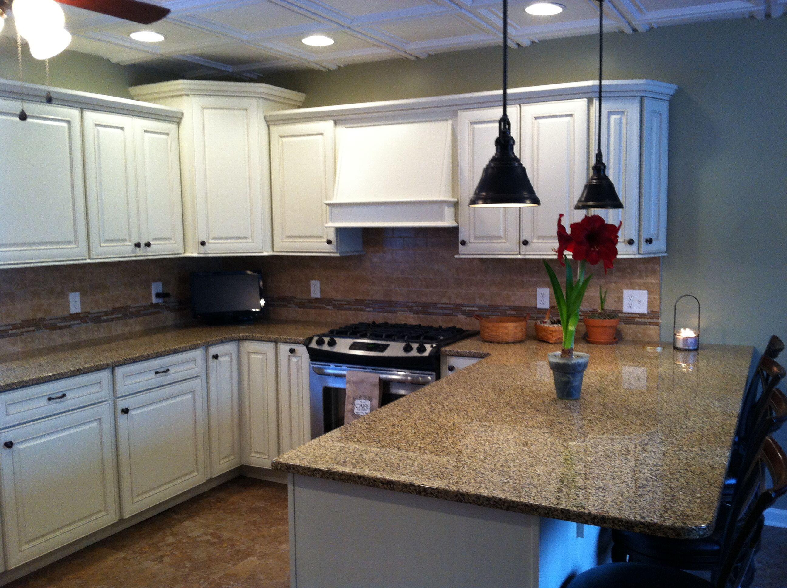 Antique white kitchen cabinetry Norcraft | KITCHEN REMODEL IDEAS ...