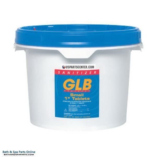 Glb Small 1 Chlorine Tabs 50 Lbs Glb71224 Portable Hot Tub Spa Parts Pool Hot Tub
