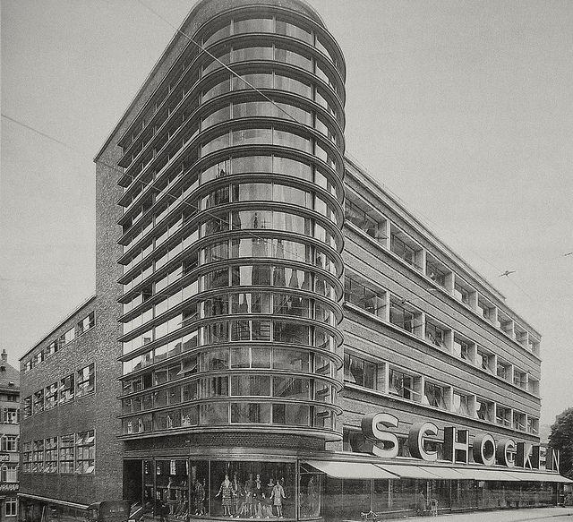 Schocken erich mendelsohn stuttgart architecture and for Stuttgart architecture