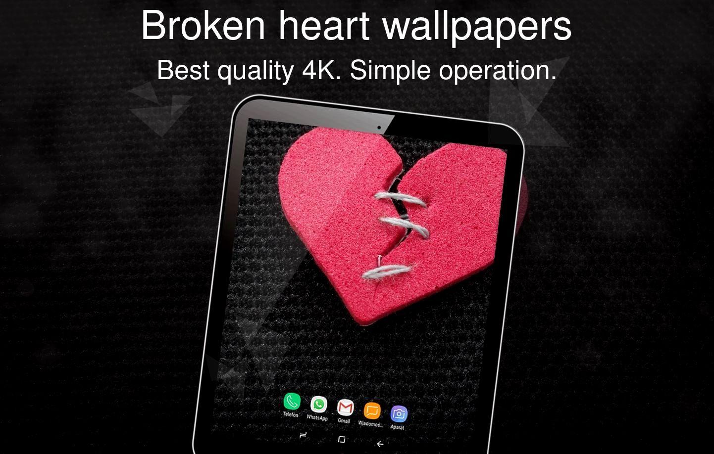 Wallpaper 4k Heart Gallery