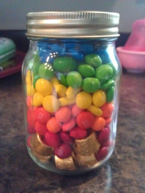 Pin By Sue Matta On School Party Ideas Jar Games Candy Guessing Game Rainbow Birthday Party