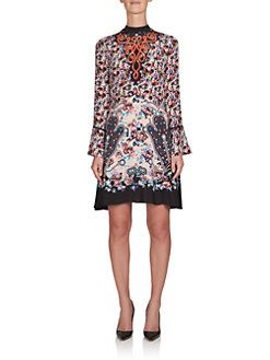 Mary Katrantzou - Holbert Printed Silk Dress