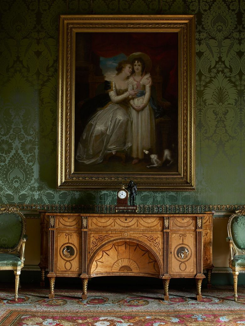 The Diana And Minerva Commode 1773 Was Designed By Thomas Chippendale Senior For State Bedroom At Harewood House In Yorkshire