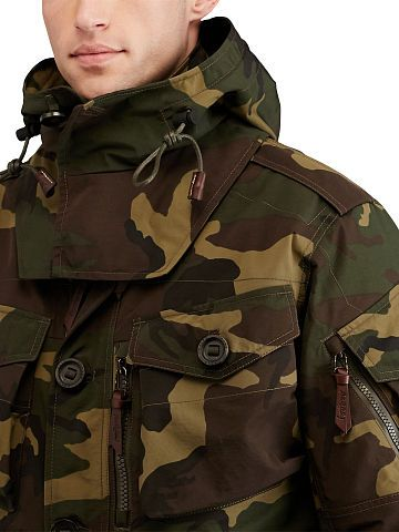 4cfe4f01d3113 Camo Hooded Utility Jacket - Polo Ralph Lauren Lightweight & Quilted -  RalphLauren.com