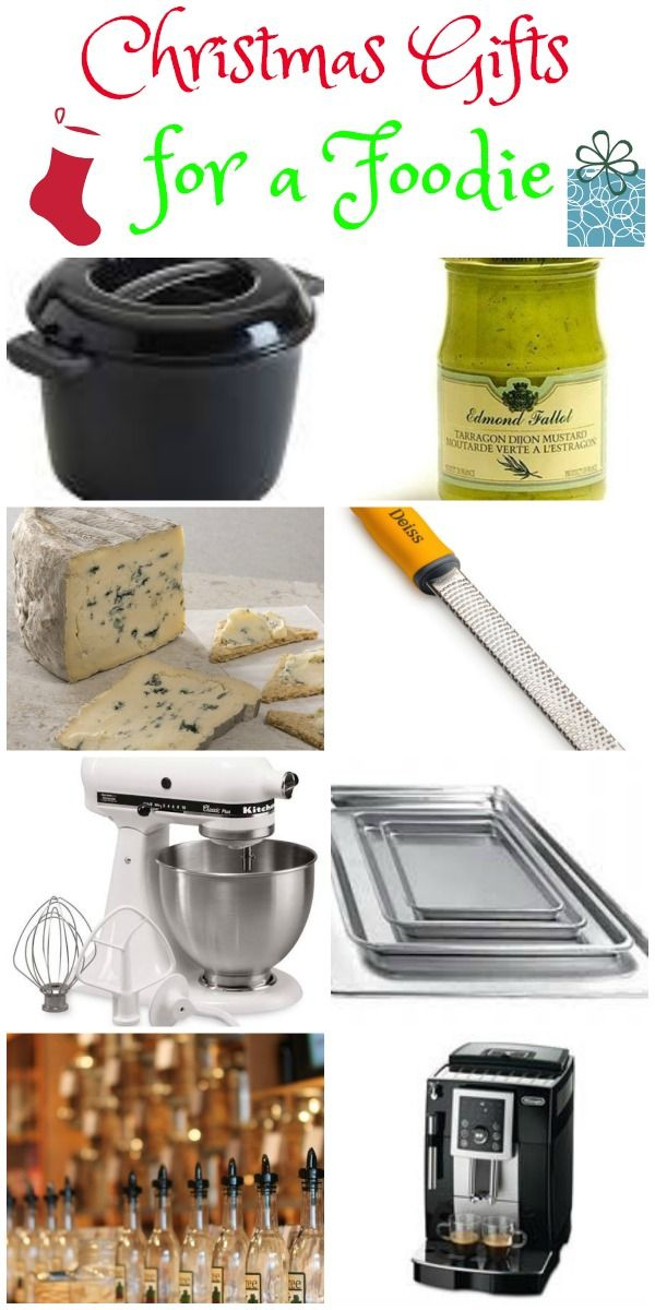 love these christmas gift ideas for a foodie or even a hostess gift