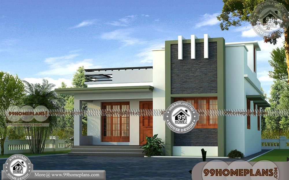 Single Floor House Designs In Kerala With Single Floor Contemporary House Design Having Single Floor House Design Contemporary House Design Kerala House Design