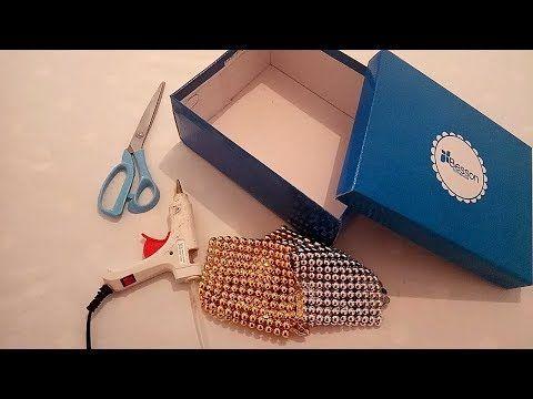 عندك كرتونة احذية 3 افكار مذهلة لن تخطر على بالك اصنعيها بنفسك Best Diy Youtube Bags Wristlet Fashion