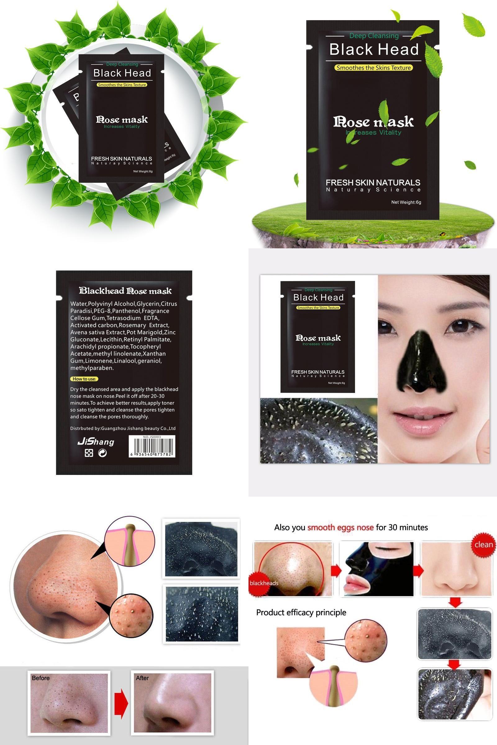Visit To Buy 10 Pcs Lot New Facial Black Mask Bioaqua Face Care Masker Charcoal