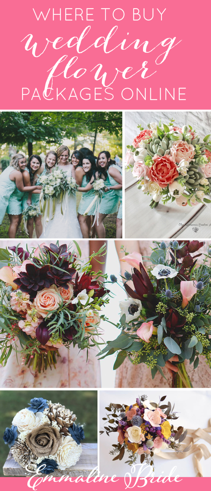 Where To Buy Affordable Wedding Flower Packages Creative