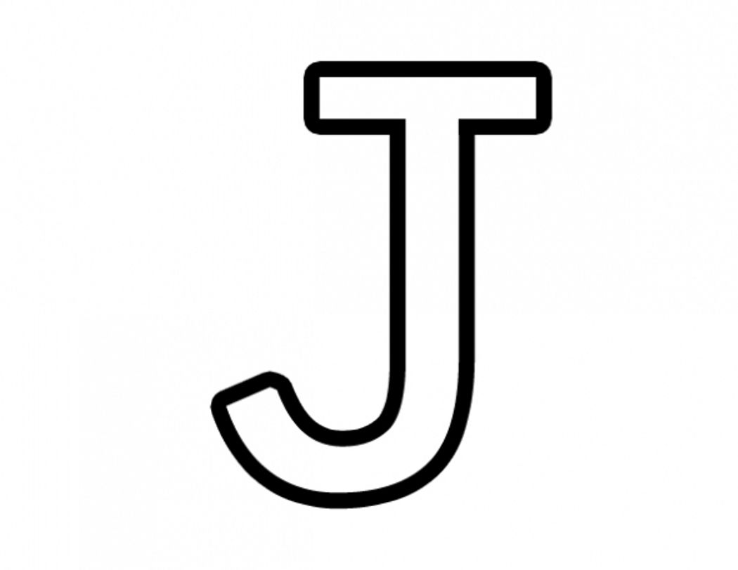 Letter J Coloring Only Coloring Pages Free Printable Alphabet Letters Alphabet Coloring Pages Printable Alphabet Letters