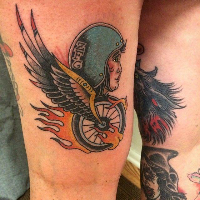 50 fearless outlaw biker tattoo designs for brutal men check more at http tattoo. Black Bedroom Furniture Sets. Home Design Ideas