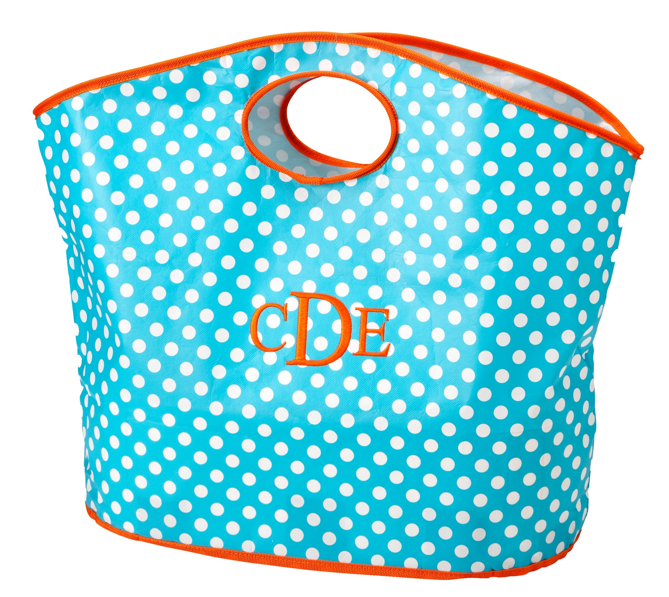 Fun Tote great bag to carry just what you need. Comes in red chevron, black chevron, pink polka dots. Magnolialace.net