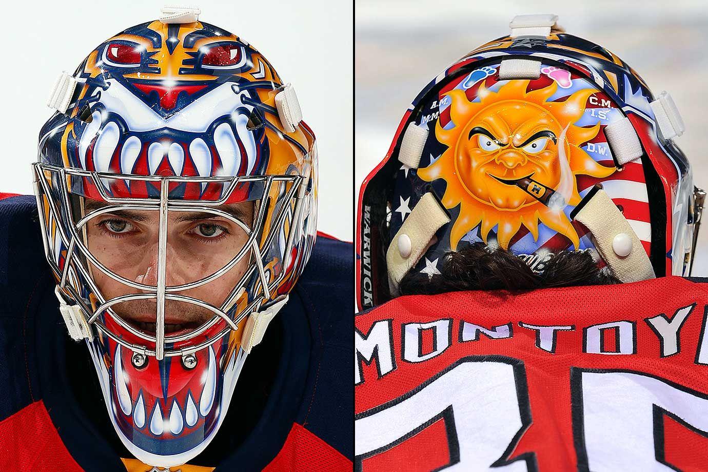 NHL Goalie Masks by Team (2016) | Hockey Goalie Masks