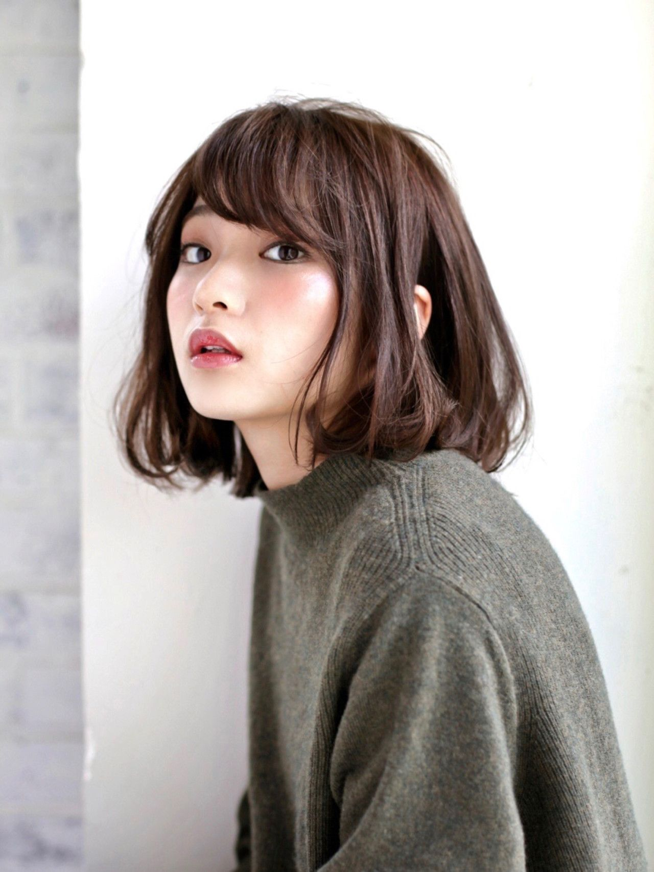 大人気ボブです asian pinterest hair styles short hair