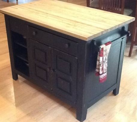 Broyhill Attic Heirloom Kitchen Island With Butcher Block Top Kitchen Island With Butcher Block Top Broyhill Furniture Collection