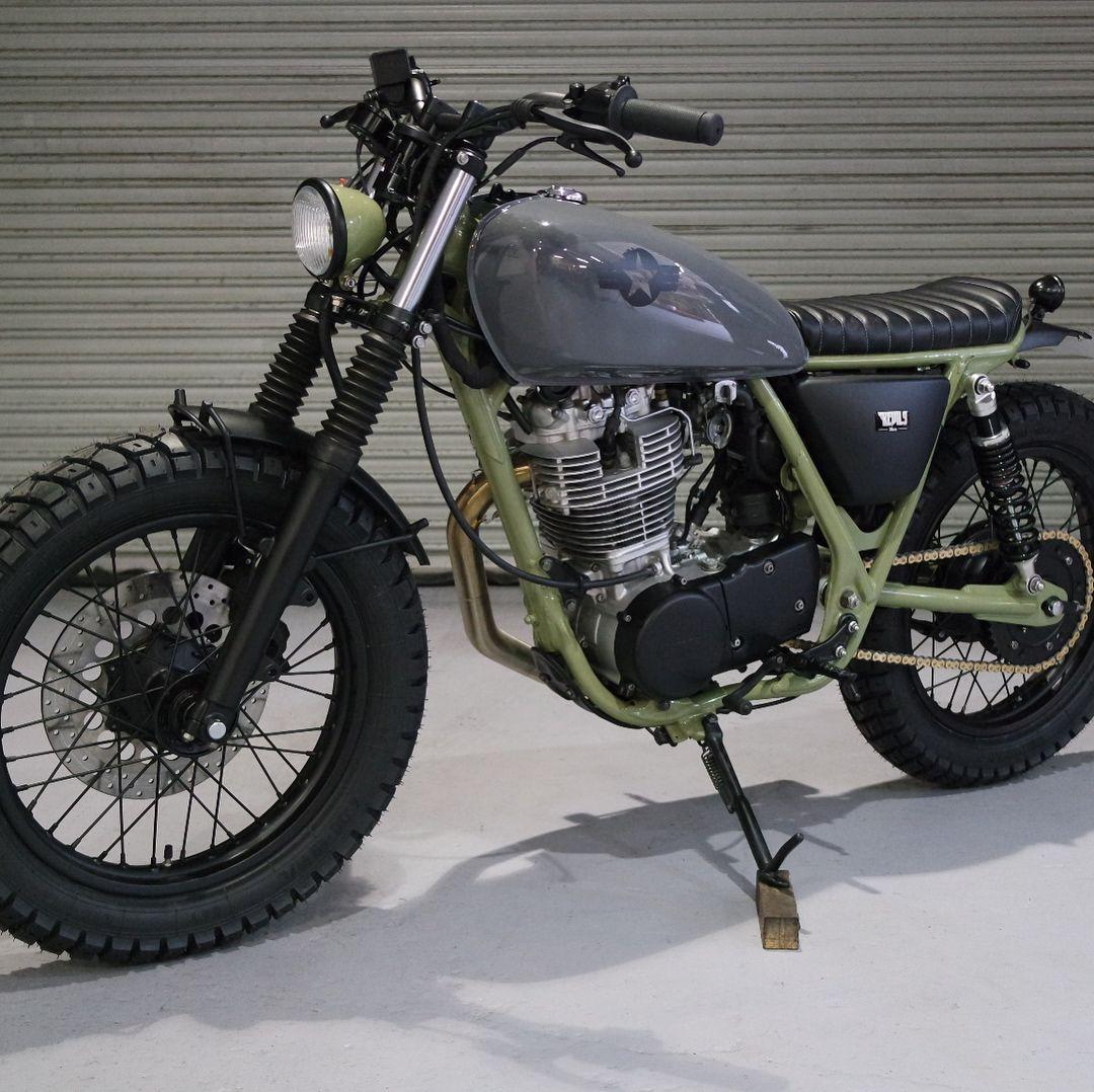 Yamaha Sr400 For Sale >> Kevils Latest Moto 27 Custom Built Yamaha Sr400 Efi For