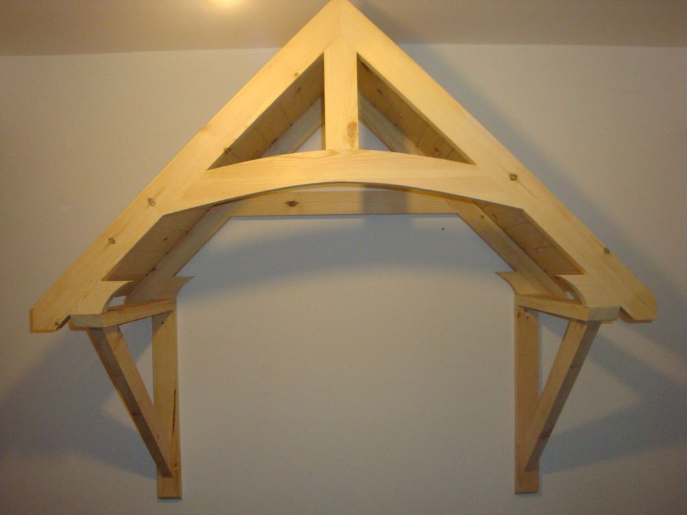 Timber Front Door Canopy Porch  CROSSMERE Hand made Shropshire awning canopies & Timber Front Door Canopy Porch