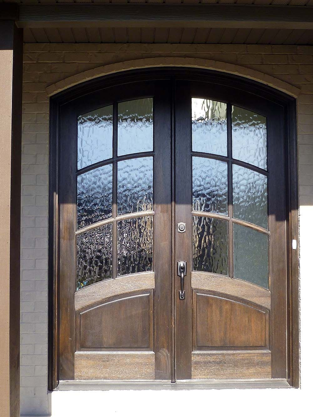Double Arched Fiberglass Entry Doors Its One Thing To Be Labeled