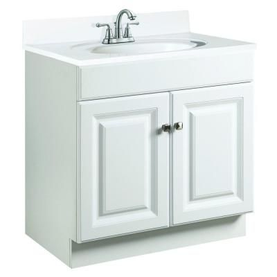 Design House Wyndham 24 in W x 21 in D Unassembled Vanity Cabinet