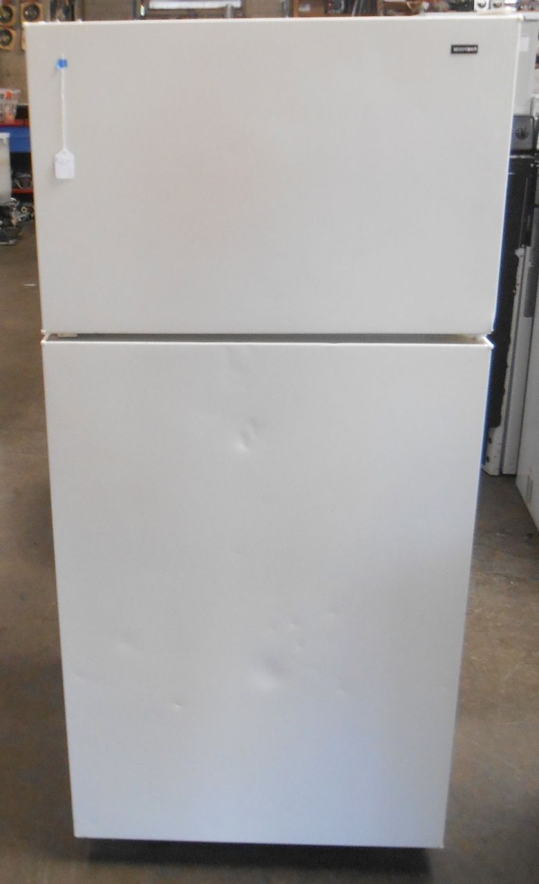 Appliance City - HOTPOINT REFRIGERATOR TOP FREEZER 16 CUBIC FOOT ...