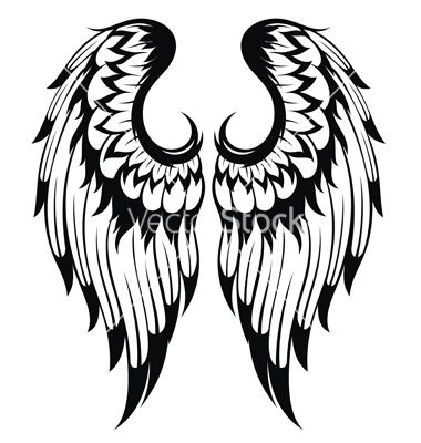 angel wings vector silhouettes pinterest angel wings angel wings vector free angel wing vector free download