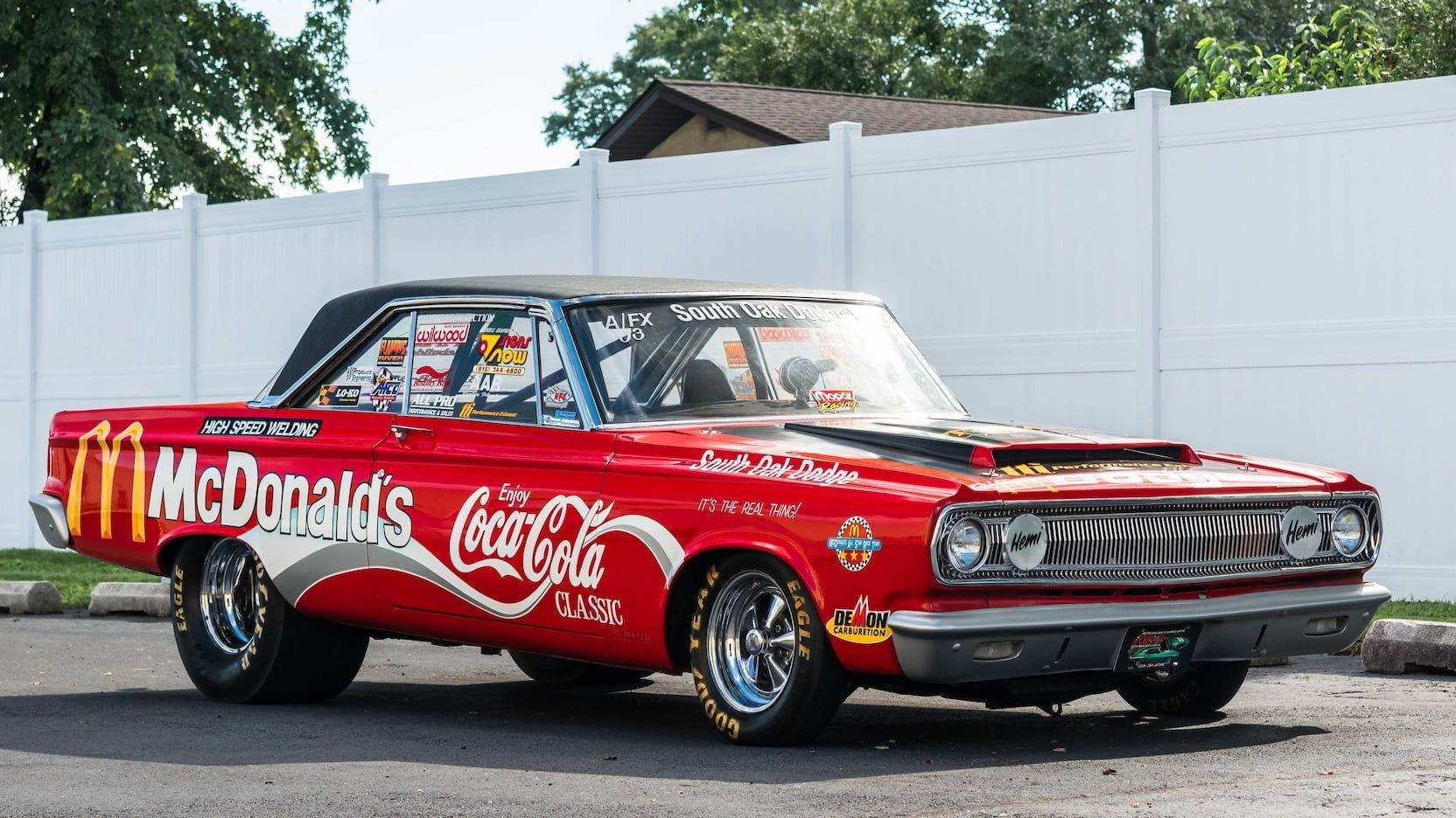 1965 Dodge Coronet Super Stock Presented As Lot T153 At Kissimmee Fl Dodge Coronet Drag Racing Cars Kissimmee