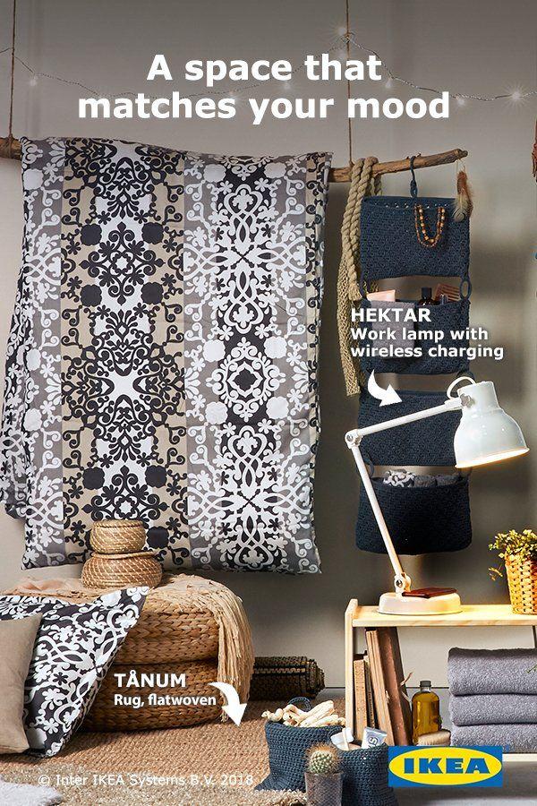 Ikea Dorm Room Ideas: Create Your Style With An IKEA TÅNUM Flatwoven Rug That