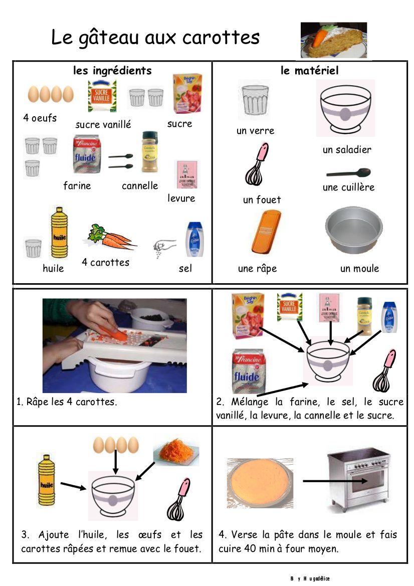 le g teau aux carottes recettes avec les enfants. Black Bedroom Furniture Sets. Home Design Ideas