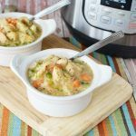 Instant Pot Chicken & Dumplings #chickendumplingscrockpot
