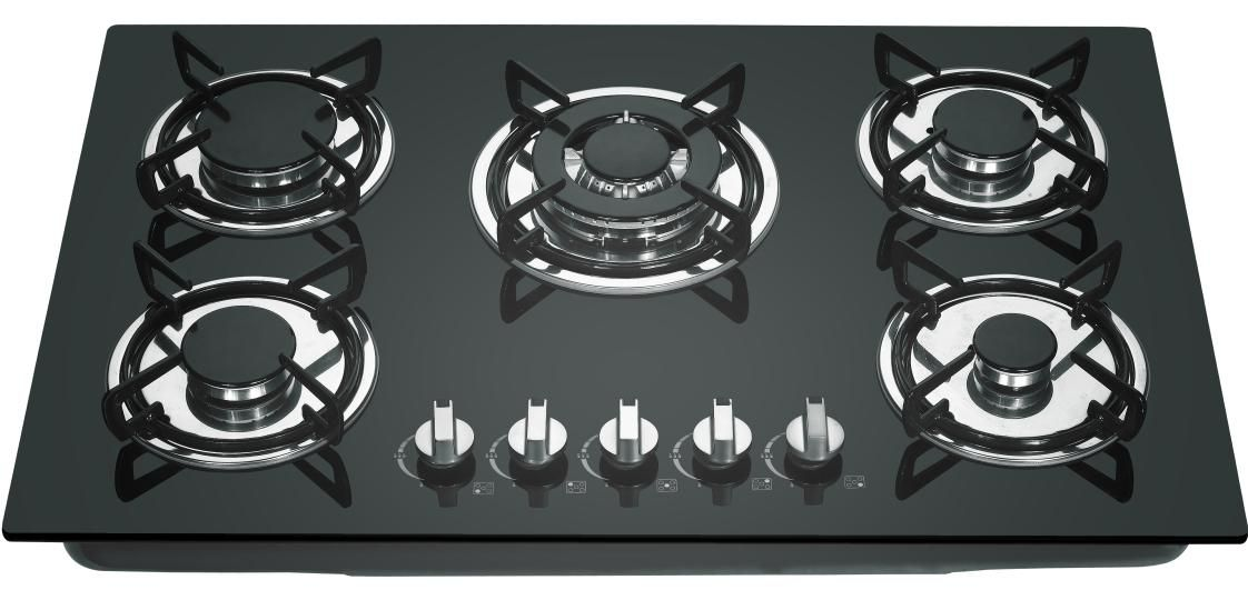 Tempered Gl Top Gas Cooker Stove Burner Hob Cooktop Electric Hot Plate Kitchen Liance Home H5209a