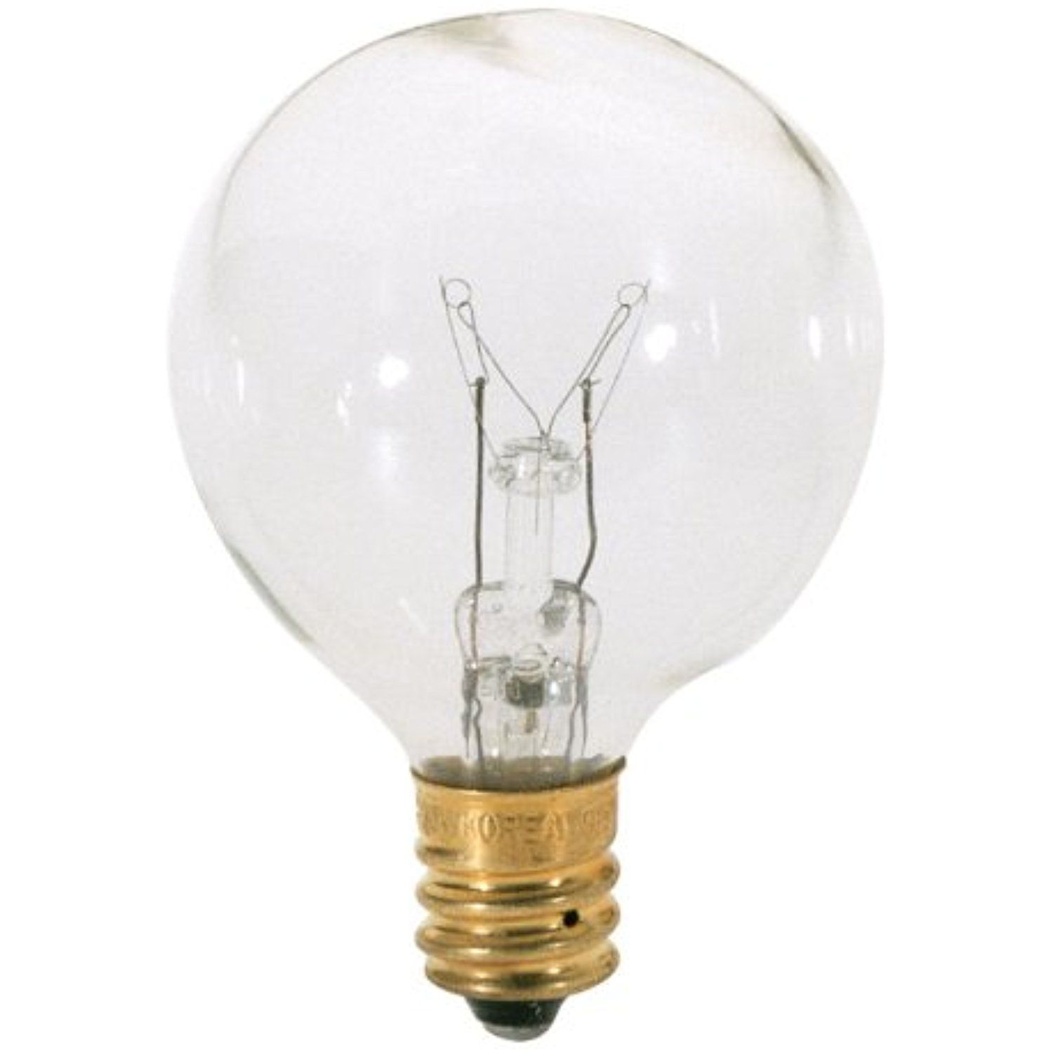 Satco S3846 120v Candelabra Base 25 Watt G12 5 Light Bulb Clear Read More At The Image Link This Is An Affiliate Link Bulb Candle Base Globe Light Bulbs