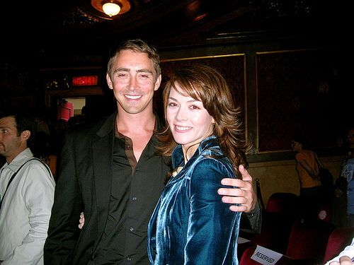 Lee Pace too close for my liking to The Fall costar (nurse)