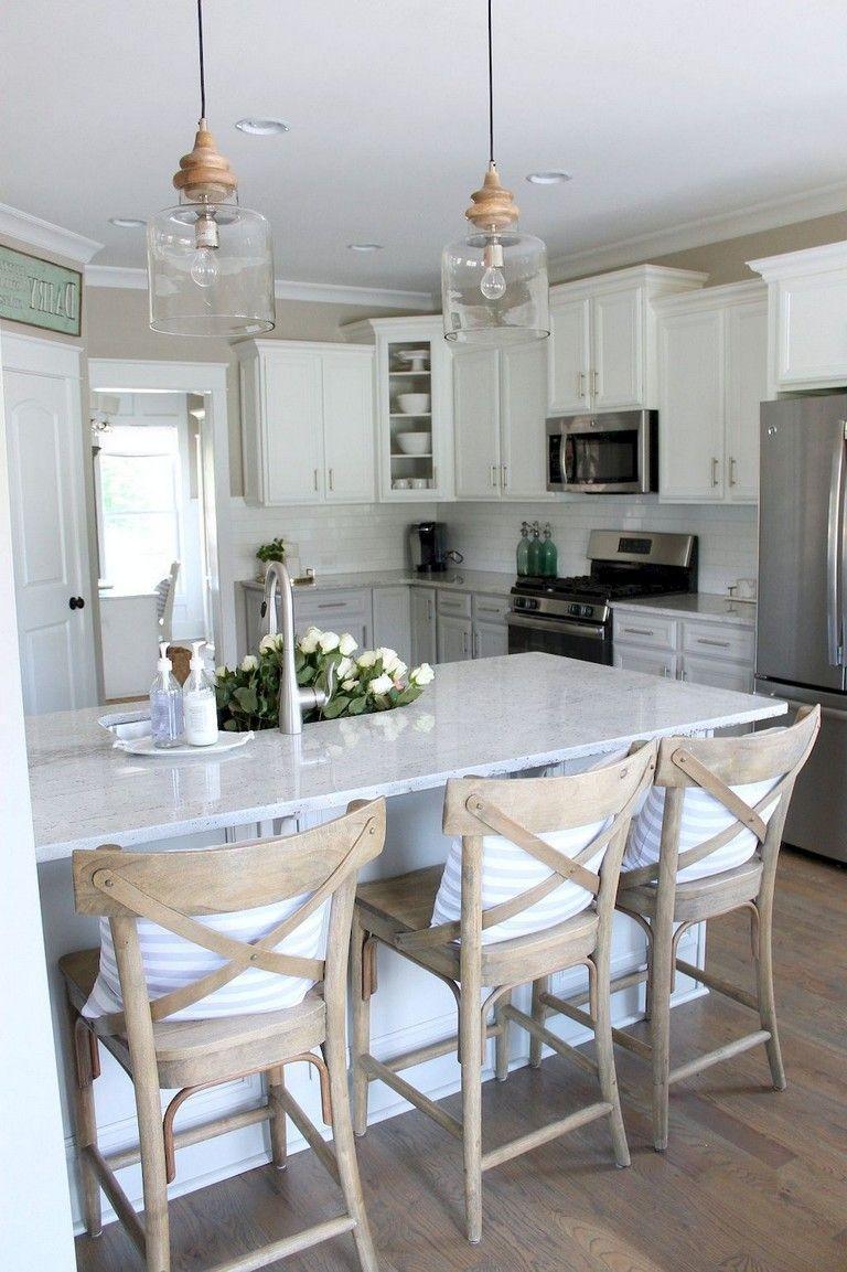 48+ Beautiful Farmhouse Kitchen Decor Ideas | Kitchen | Kitchen