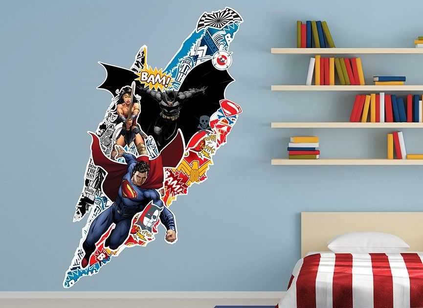 Superieur Decorate With These Batman V Superman Wall Decals. These Batman V Superman  Wall Graphics Will Delight Anyone Who Enters The Room!