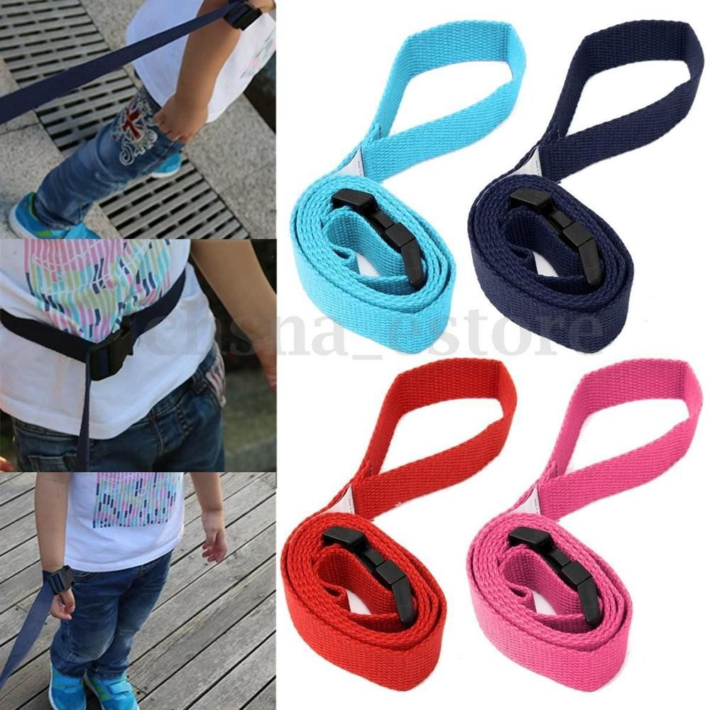 Child Safety Wrist Link Baby Toddler Harness Leash