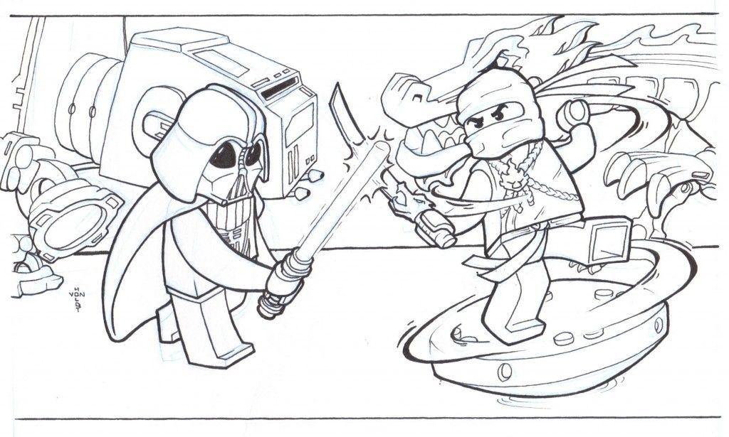 Free Printable Ninjago Coloring Pages For Kids | print it ...