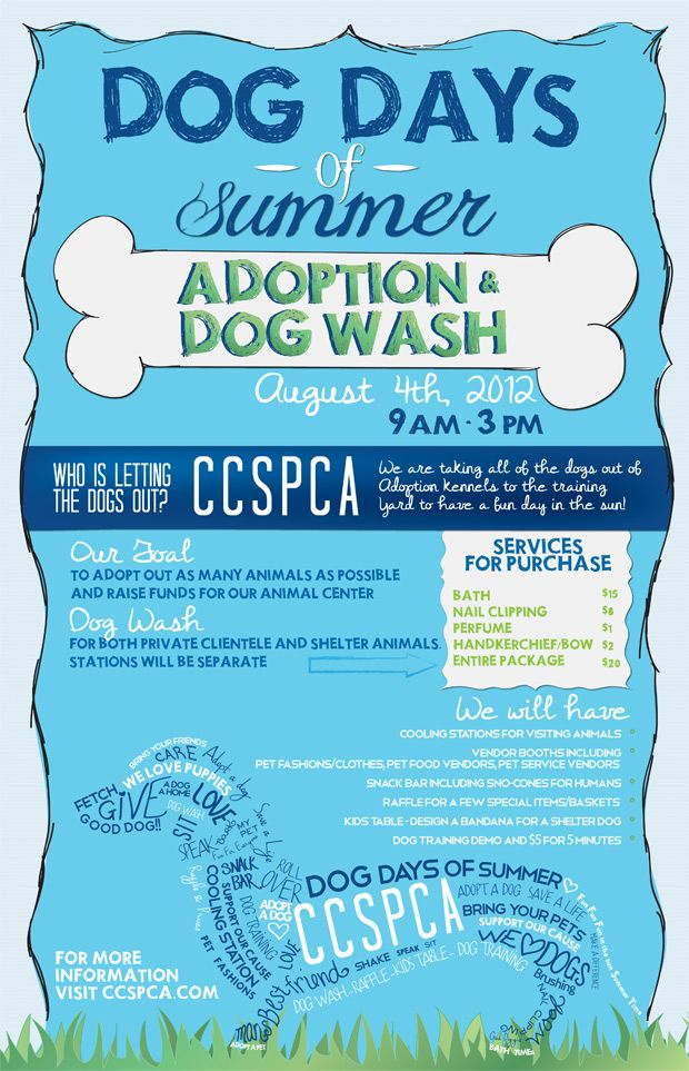 Dog Days of Summer Event August 4th Animal rescue