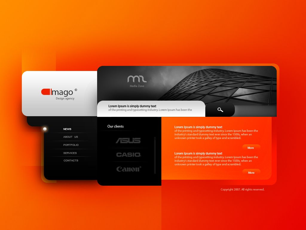 Example Of A Very Nice Template Clean Web Design Creative Web Design Web Design