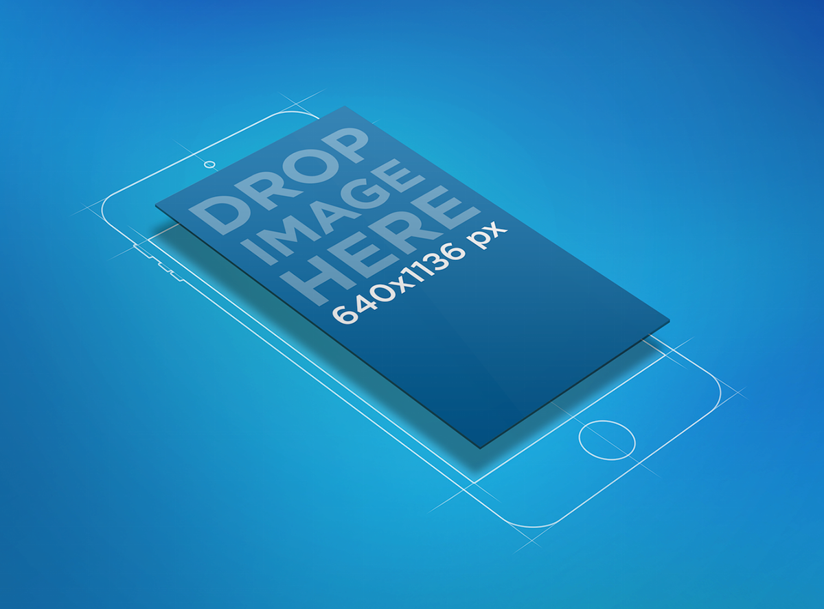 Free Sketched iPhone 6 Mockup on Behance Free iphone 6