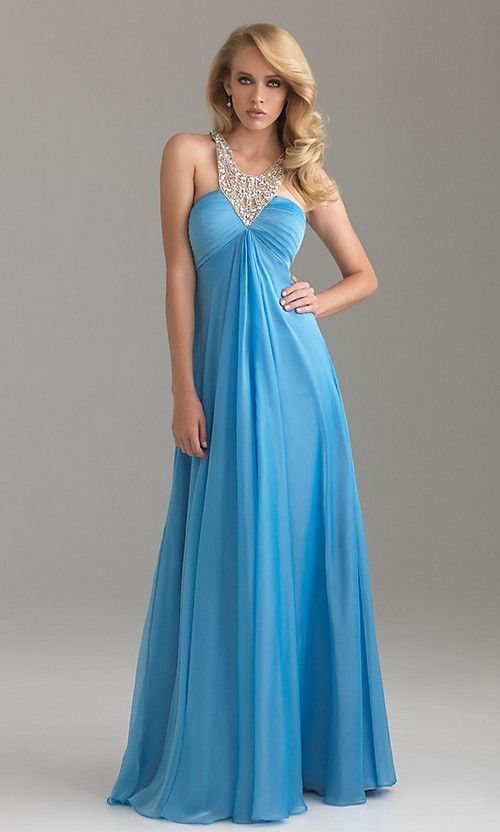 ELEGANT NIGHT MOVES EVENING GOWN | Senior Prom ❤ | Pinterest ...