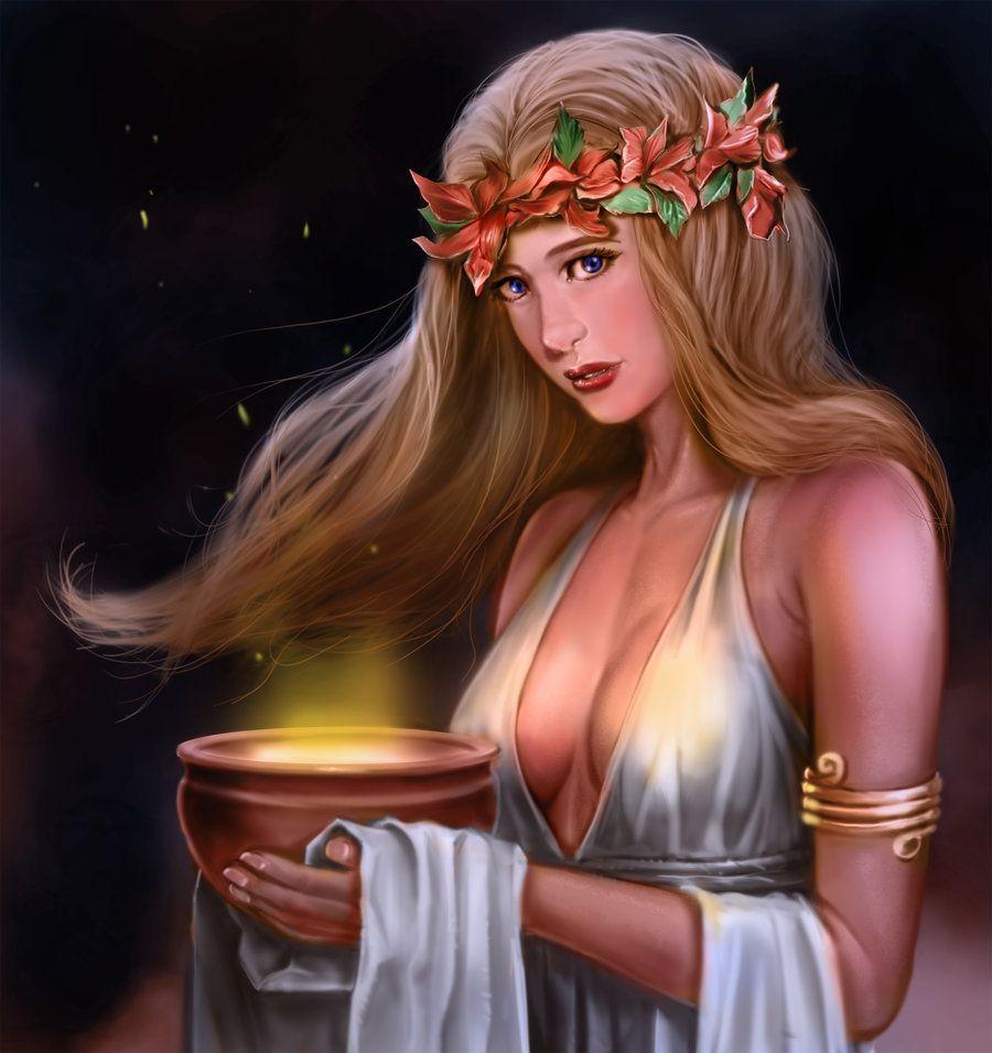 Goddess hestia virginity