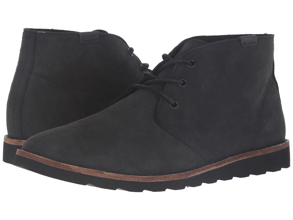 VANS VANS - DESERT CHUKKA (BLACK NUBUCK) MEN'S SHOES. #vans #shoes